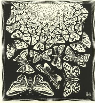 Maurits Cornelis Escher (1898-1972) Mariposa