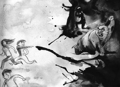 i-cattivi-liza-schiavi-illustrations